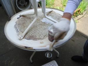 H30テーブル修理2